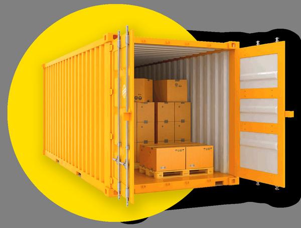 Аренда контейнера 40 футов 30 кв.м в Калининграде
